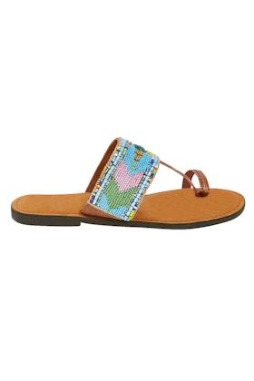 Ruby Yaya Anika Beaded Flat Sandal