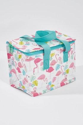 Rex London Flamingo Bay Insulated Lunch Bag