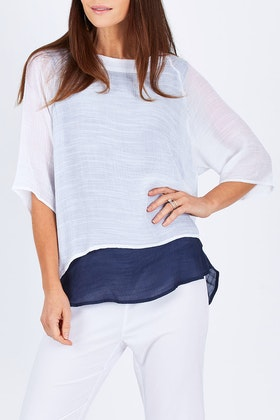 Threadz Double Layered Top