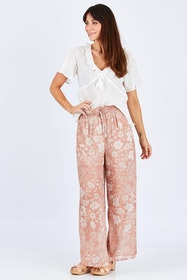 Moroccan Escape Wide Leg Pant