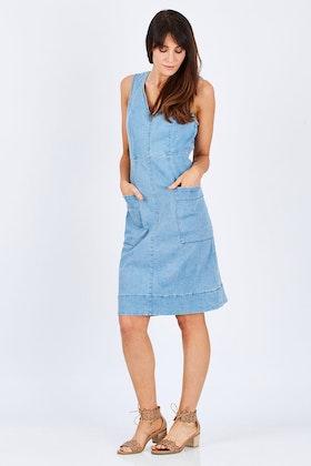 JAG Asha Denim Dress