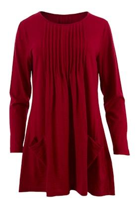 Merino Essentials Merino Wool Knit Rib Top