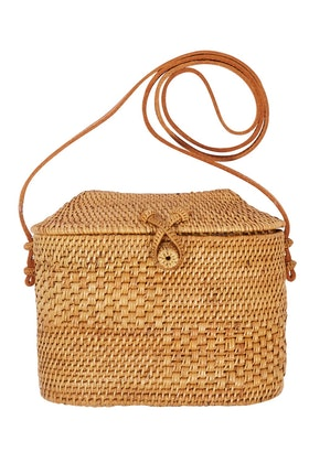 Scandic Gypsy Ata Sumba Rattan Shoulder Bag