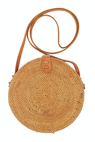 Bali Rattan Shoulder Bag