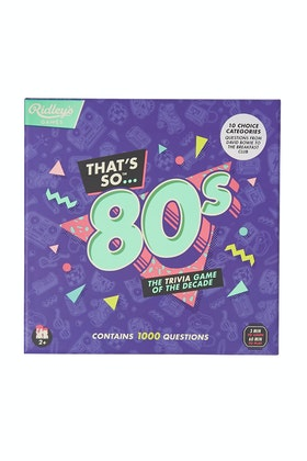 Ridley's That's So 80s Trivia Game
