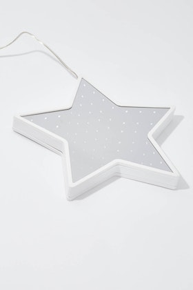 IS Gifts Infinity Light Hanging Christmas Star