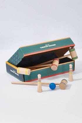 IS Gifts Classic Games Tabletop Croquet