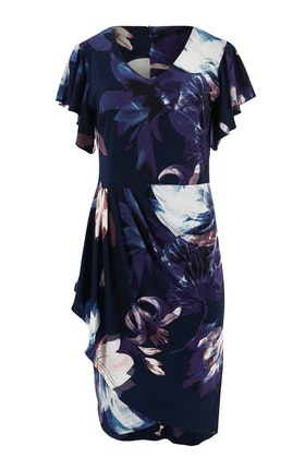 Spicy Sugar Floral Ruffled Dress
