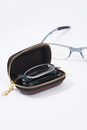 IS Gifts Folding Readers In Zipper Case