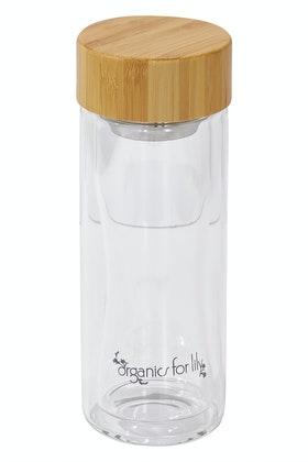 Organics For Lily Small 300ml Tea Bottle Infuser