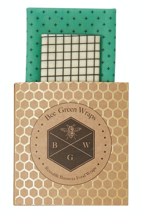 BeeGreen Wraps Lunch Starter Pack Beeswax Wraps