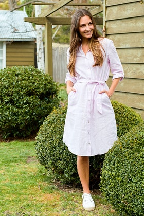 Wite Isable Shirt Dress