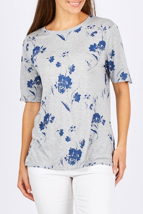 Fate + Becker Dream Big Floral Tee