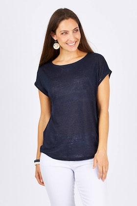 JAG Emma Linen T-shirt