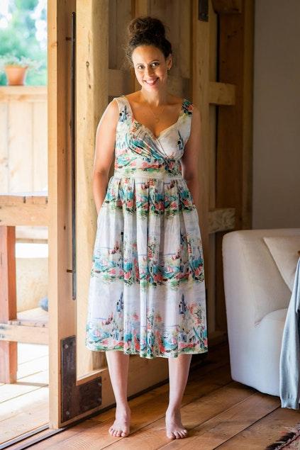 8fb89af5f5352 lazybones Alice Dress - Womens Calf Length Dresses - Birdsnest Clothing  Online