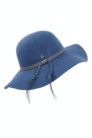 New Ever After Wide Brim Wool Felt Hat
