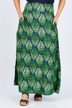 that bird label Rosie Maxi Skirt Flourish