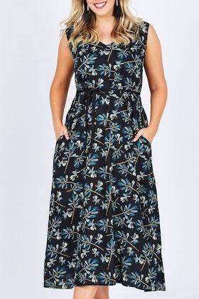 that bird label Chelsea Relaxed A-line Dress Jumanji