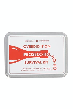 Men's Society Prosecc-ho-ho-ho Survival Kit