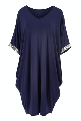 PQ Collection Miracle Sequin Sleeve Dress