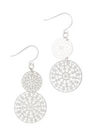 Double Moon Earrings