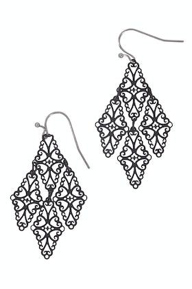 Duck & Sparrow Lace Dangle Earrings