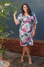 Belle bird Belle Hydrangea Floral Dress
