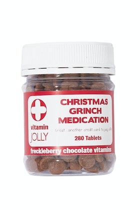 Freckleberry Christmas Grinch Medication