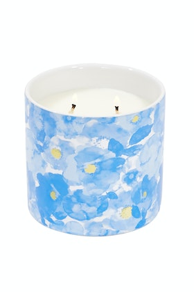 Lantern Cove Secret Garden 13oz White Orchid And Violet Candle