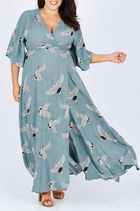boho bird By Candlelight Maxi Dress