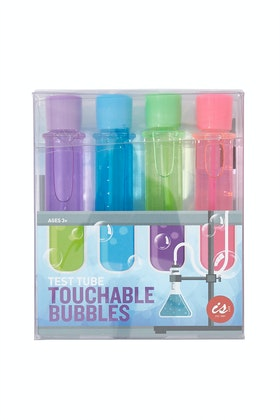 IS Gifts Test Tube Touchable Bubbles