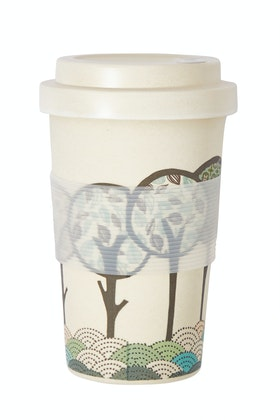 Rancho Bamboo Printed Ecup Coffee Cup