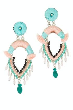 Zoda Falling Gems Dangle Earrings