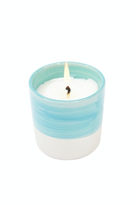 Lantern Cove Brush 3oz Sea Spray Ceramic Candle