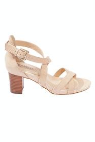 Amie Leather Heel