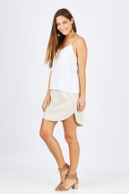 Betty Basics Duke Linen Skirt
