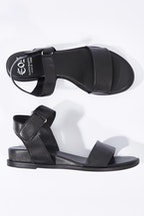 EOS Farva Leather Sandal Flat