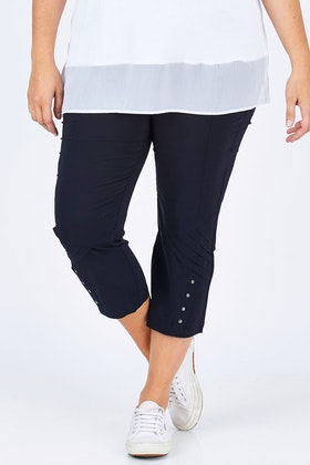 Threadz Eyelet Trim Pant