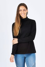 Merino Essentials Merino Wool Knit Top