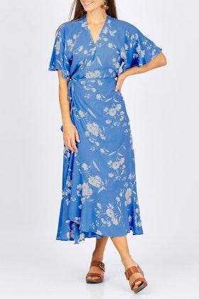 Fate + Becker Dream Big Wrap Dress