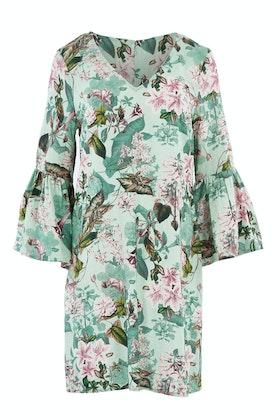 Jump Gatsby Floral Bell Sleeve Dress