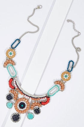 Zoda Droplets Hanging Detail Necklace