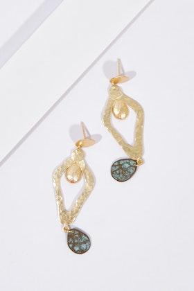 Zoda Striking Evening Hanging Earrings