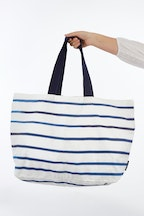 Bambury Drift Printed Cotton Beach Tote Bag