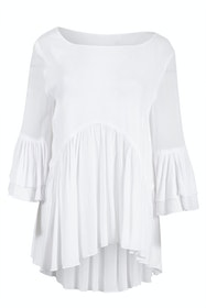 Long Sleeve Ruffle Shirt