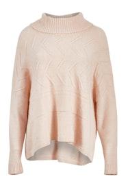 Horizontal Cabel Pullover