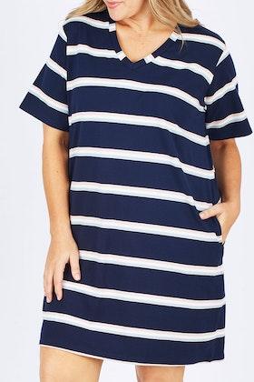 handpicked by birds Summer T-shirt Dress