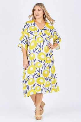 Scandi bird Manstrale Midi Dress
