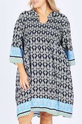 Threadz Print Dress