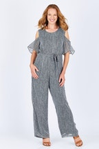 Cordelia St Cold Shoulder Jumpsuit
